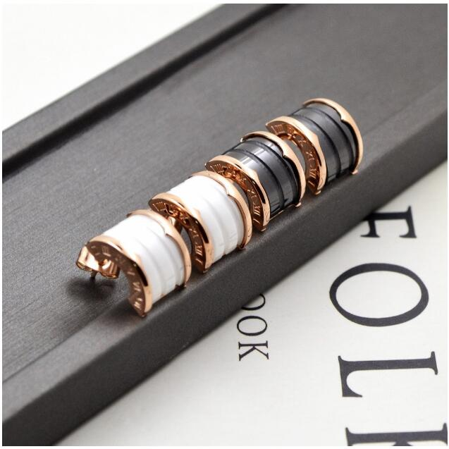 Высококачественный бренд украшений 316L Titanium стали золотые украшения beanear покрытие цвета розового золота обувь для мужчин и женщин аксессуар...