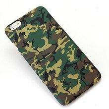 Супер Назад Чехол для iPhone 6 Мода Кристалл Armygreen Камуфляж Чехол Для Apple, iPhone 6 4.7 inch Мягкие TPU Телефон случае