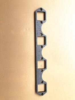 פליטה כותרת collectore עבור Fit עבור שברולט קטן בלוק 262-400 CID כותרת מקורבות 3/8