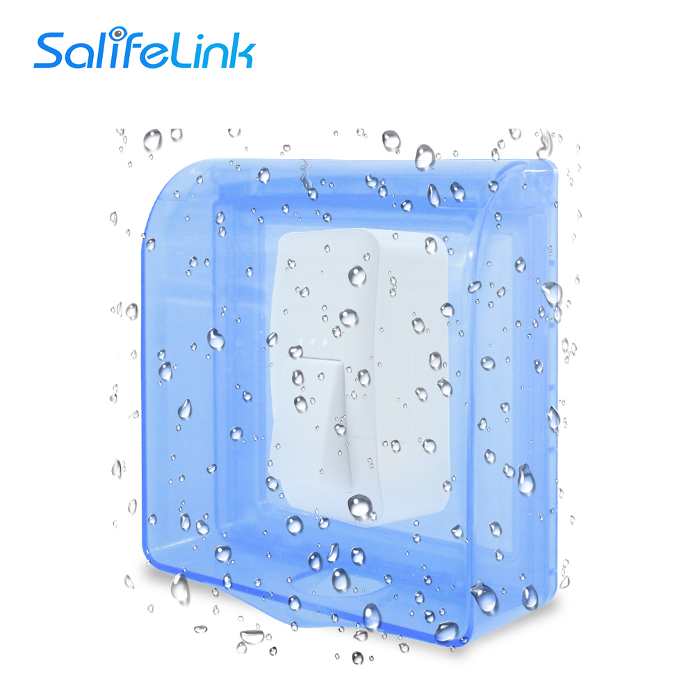 Waterproof Cover For Wireless Doorbell LED Door Bell Chime Button Transmitter Launcher Accessories Heavy Rain Protective Cover