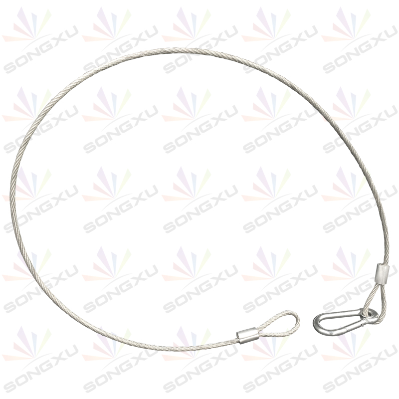 Safety Rope Cable Steel Wire Stage Light Safety Wire Dmx Cables