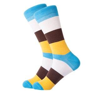 Image 4 - Chaussettes homme 12 paires/lot Calcetines Hombre mode cadeau de mariage chaussettes décontractées homme pour automne hiver chaud cadeau de noël