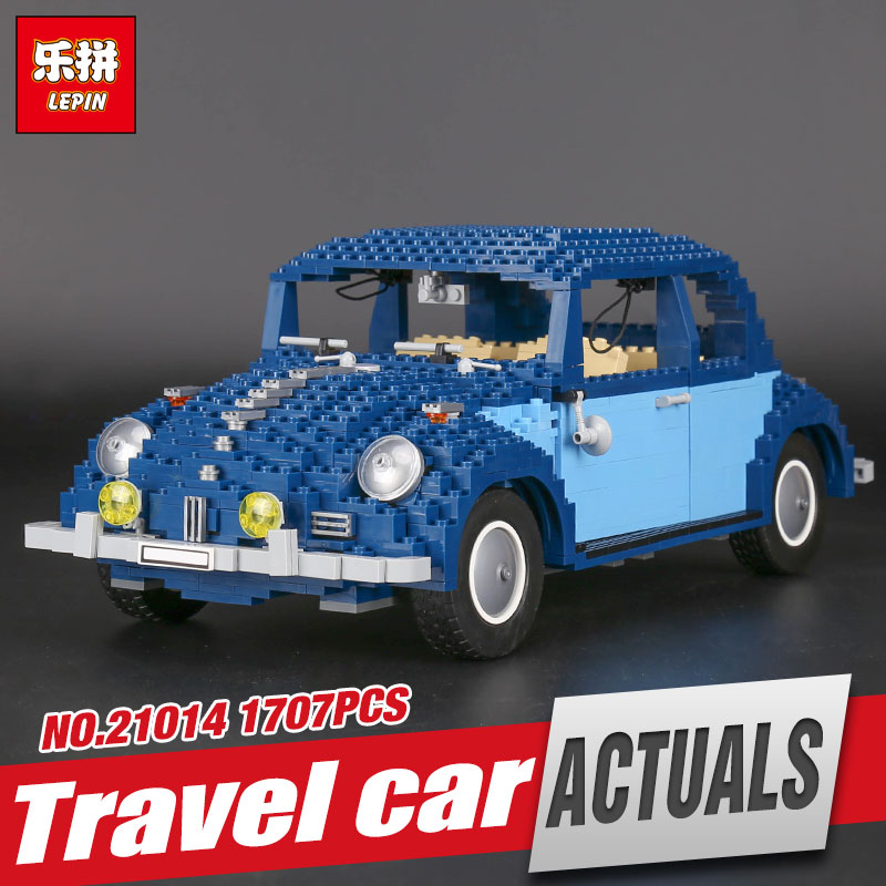 Lepin 21014 1707Pcs Technic Classic Series The Ultimate Beetle Set children Educational Building Blocks Bricks Toys Model 10187 lepin 21014 the ultimate beetle building bricks blocks toys for children boys game model car gift compatible with bela 10187
