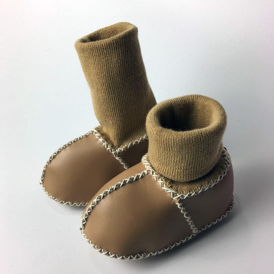 Winter Warm Schoenen PU Suède Pasgeboren Babyschoenen Bebe Fringe - Baby schoentjes - Foto 5