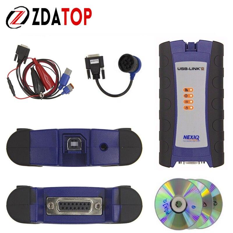 Цена за Zolizda NEXIQ 2 Дизель грузовик диагностический инструмент NEXIQ2 с Bluetooth USB Link Heavy Duty Truck с Software NEXIQ в наличии