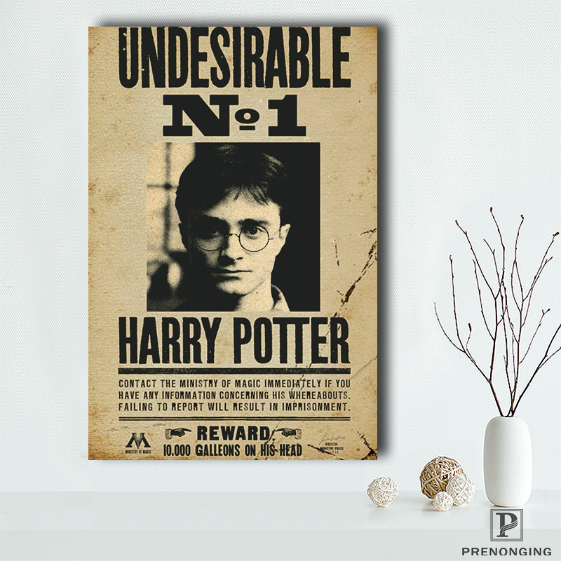 Canvas Poster Fabric Silk Harry Undesirable No No.-1 190114s01
