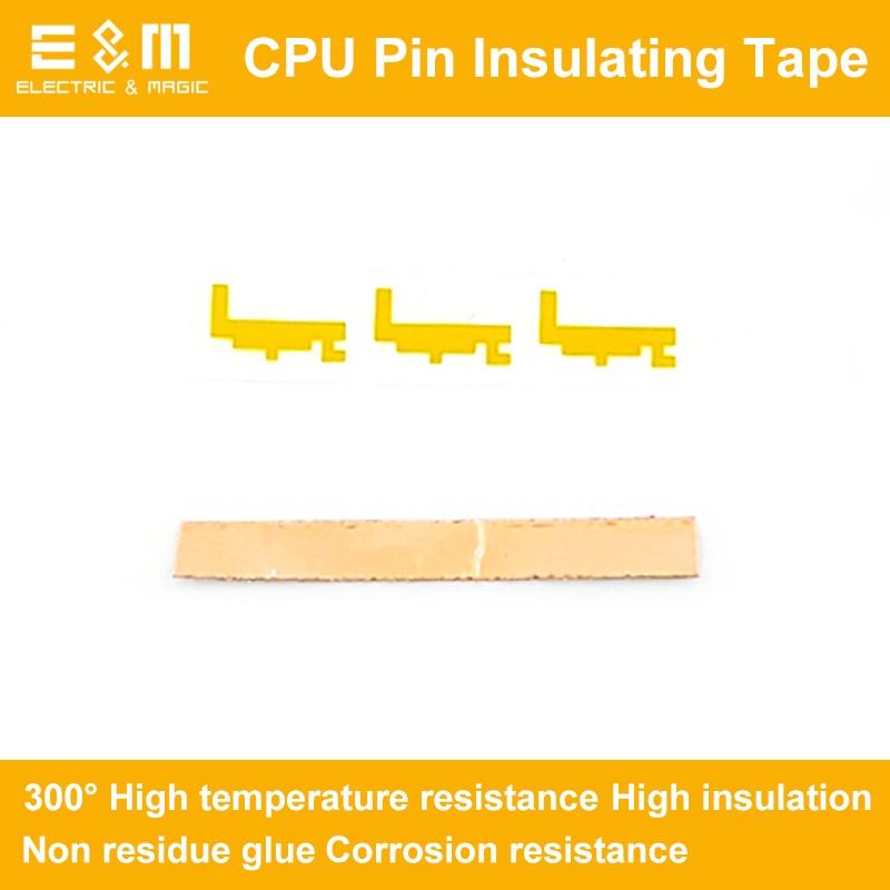 8gen CPU Pin Insulating Tape Sticker I5 for LGA1151 I5-8400 8500 8600K I7-8700 8700K 300 Degrees Temperature Resistance8gen CPU Pin Insulating Tape Sticker I5 for LGA1151 I5-8400 8500 8600K I7-8700 8700K 300 Degrees Temperature Resistance