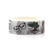 The Office TV Show Cartoon funny DIY Scrapbooking Sticky Adhesive washi Paper Masking Tape Printed Patterns stickers decal E0618