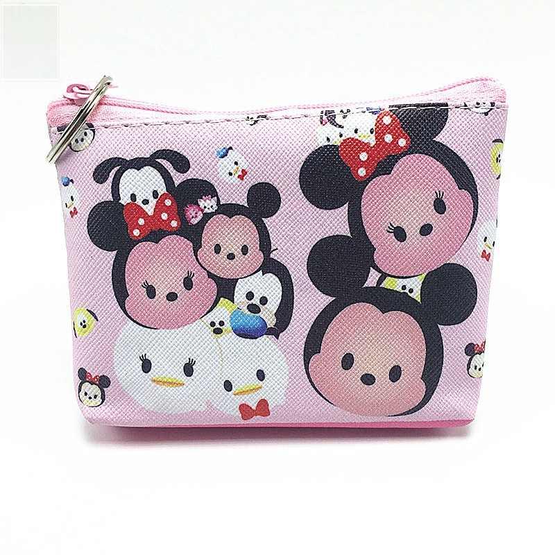 Disney yeni bozuk para cüzdanı Taze mini değişim saklama çantası Yaratıcı karikatür mickey mouse Minnie anahtar kılıfı bayanlar cüzdan TSUM