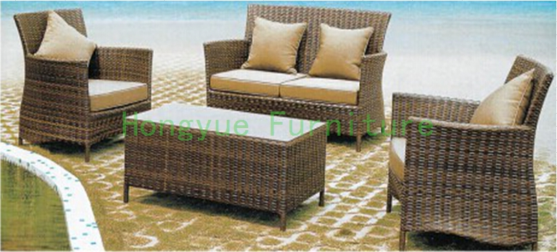 Outdoor garden sofa set Rattan sofa set furniture