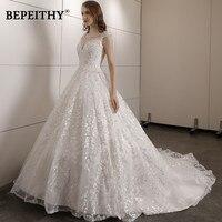 Vintage Lace Wedding Dress Court Train With Beading Top Vestidos De Novia Vintage Ball Gown Wedding Gowns 2019 Hot Sales