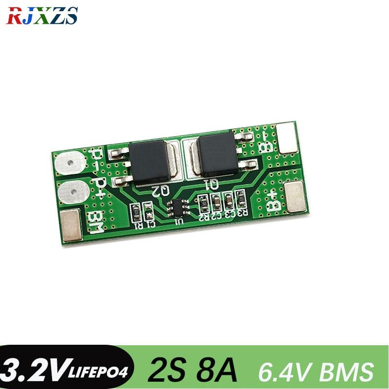 8A LiFePO4 Battery PCB Protection Board BMS LED Indicator 4S 18650 12.8V Module