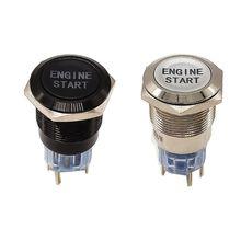 12 В водонепроницаемый автомобильный двигатель пусковой кнопочный переключатель зажигания стартовый пусковой переключатель Замена Enginee Start