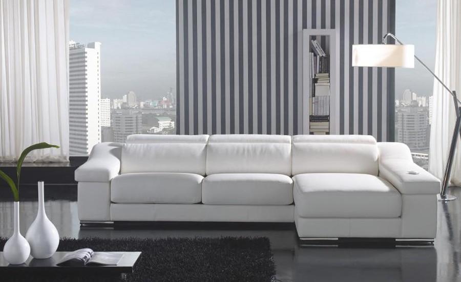 Acquista all\'ingrosso Online moderno divano in pelle da Grossisti ...