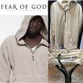 Страх Божий Толстовки Мужчины Женщины 1:1 Высокое Качество Шерсти Одежда Пуловер Fearofgod ТУМАН Кофты и Толстовки Страх Божий толстовки