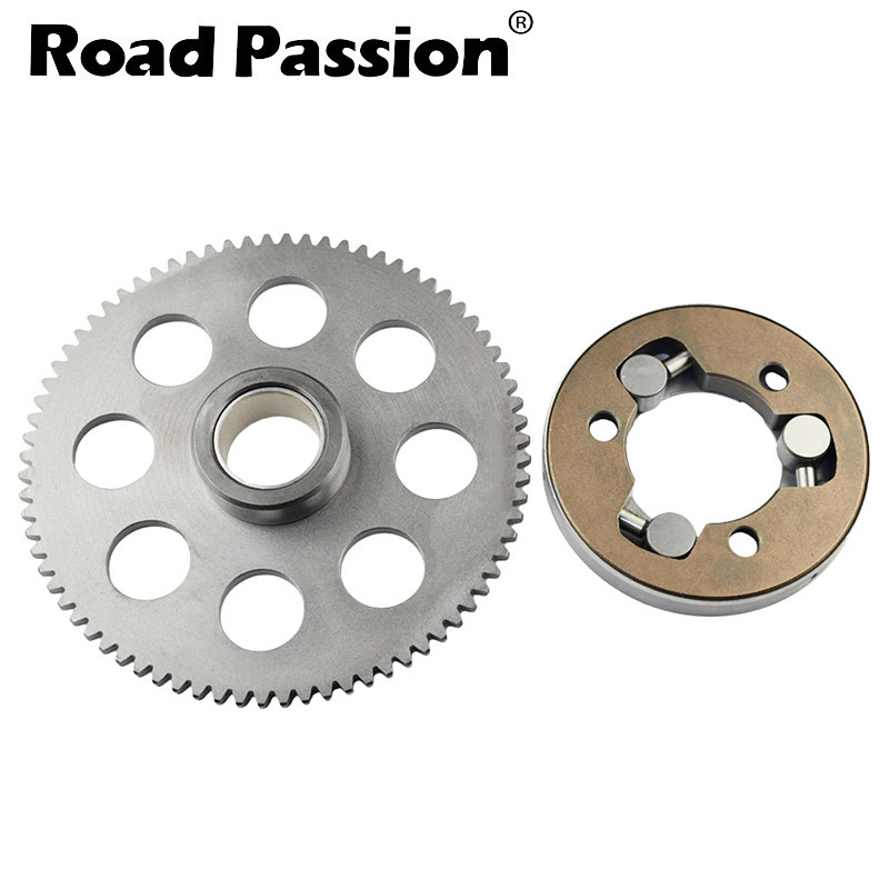 Road Passion Motorcycle One Way Starter Clutch Gear Assy Kit For Yamaha VMAX1200 VMX12 82-07 XVZ1200 83-89 XVZ1300 86-93