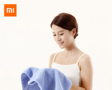 Original Xiaomi Mijia ZSH Pure Cotton Baby Face Towel Antibacterial 1.6 Second Strong Water Absorption For xiaomi smart home origial xiaomi zsh towel powerful absorption antibacterial long staple cotton sealed packaging youth series white