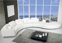 modern style  living room Genuine leather sofa a1305
