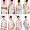 2017 Весной и Летом Стиль мужская sleepwears, дома носит, мужчины clothings, пижамы набор