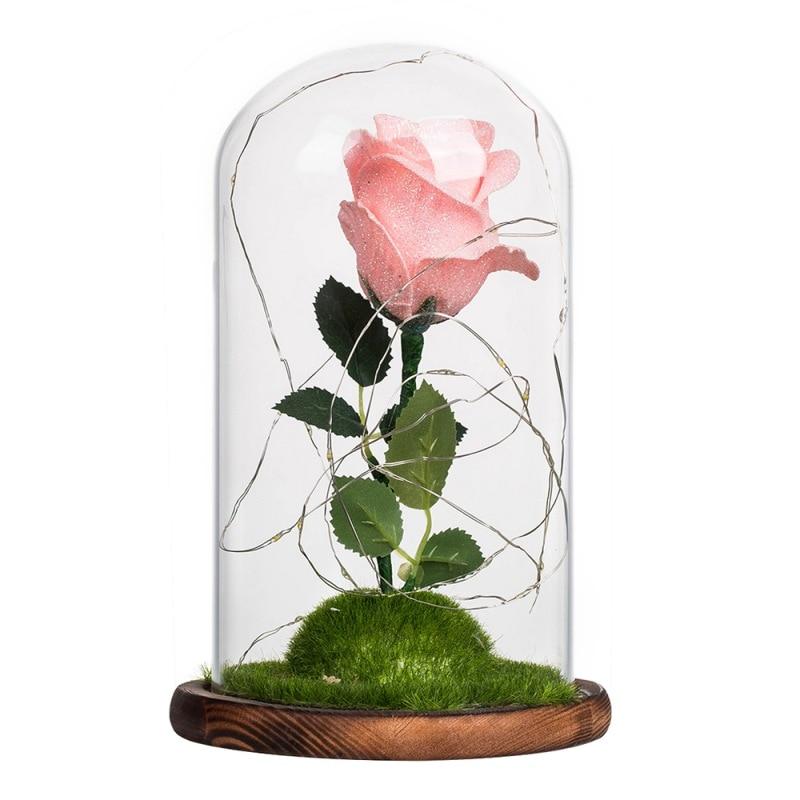 48 Cm Länge 11 Stücke Rot Lila Künstliche Rose Blume Hochzeit Dekoration Valentinstag Geschenk Chencheng Künstliche Dekorationen Haus & Garten