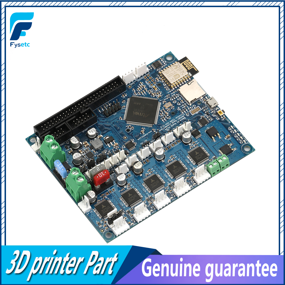 Latest Cloned Duet 2 Wifi V1.04 DuetWifi Advanced 32bit Motherboard Upgrades Controller Board For 3D Printer CNC BLV MGN Cube image
