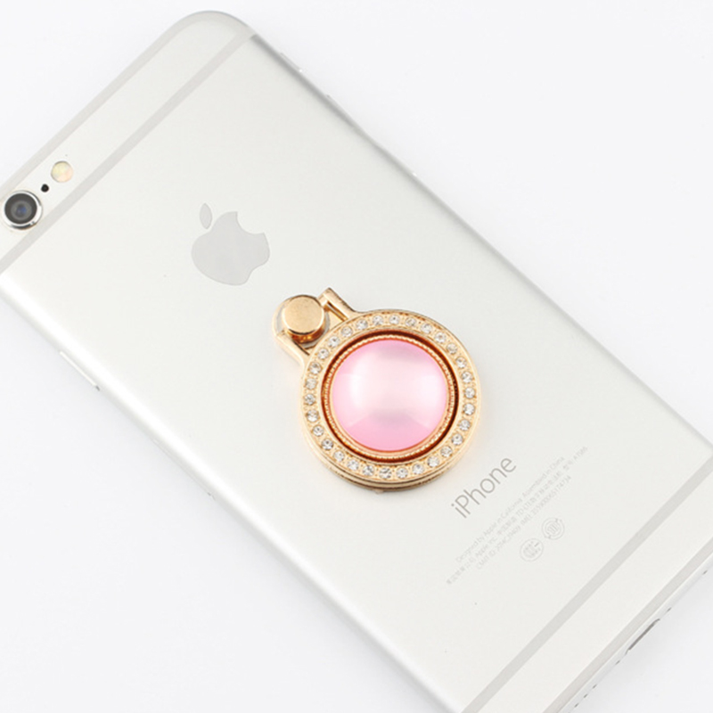 Universal Finger ring holder 360 Degree Alloy For iPhone X 8 7 Samsung S9 S8 Mobile Phone Tablets Holders For Hua weill Xiaomi
