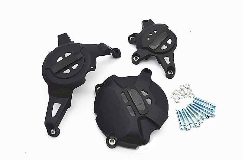 Motorcycle Engine Crank Cover Set Protector Guard For HONDA CBR1000RR 2012-2015 cyt alloy steel motorcycle engine valve for honda cg200 dark grey pair