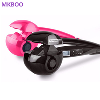 Automatic Hair Curler With LCD Hair Roller Curl Hair Crimper Styler Tools Wave Wand Curling Iron