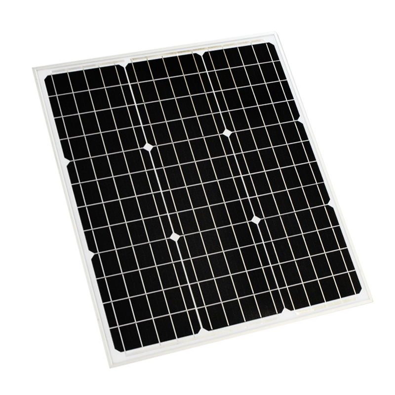 BOGUANG 50W solar panel 18V 625*505*25mm mono cells 12V battery quality efficient light solar module durable PV Photovoltaic diy photovoltaic panels durable 20w solar cells charging 18v solar panel