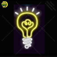 Neon Sign for A luminous bulb Neon Bulb Sign wall sign for Room Custom LOGO nein sign Express Lamp Beer HOME room Accesaries