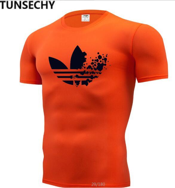 2019 men's wear   T     shirt   men's fashion   T     shirt   fit men's compression tight   T     shirt   xs-4 xl free shipping