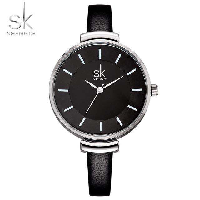 Shengke Brand Quartz Wrist Watches Woman Quartz-watch Casual Fashion Clock Women