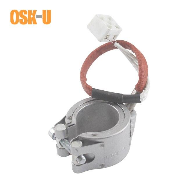 Керамический ленточный нагреватель, 35 мм, внутренний диаметр 230 В, 35x3 0/35x4 0/35x60 мм, высота, Электрический промышленный нагревательный элемент, мощность 300 Вт/400 Вт
