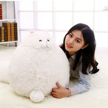 New Hot Lovely Simulation Persian Cat Plush Toys Soft Cotton Stuffed Pembroke Pet Animal Dolls New Year Christmas Gifts for Kids