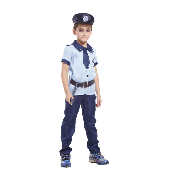 M-XL Fantasia Childrenu0027s Halloween policemen Costumes Disfraces Boys Kids Army officer uniforms Cosplay Masquerade  sc 1 st  AliExpress.com & M XL Fantasia Childrenu0027s Halloween policemen Costumes Disfraces Boys ...