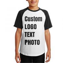 Индивидуальная футболка с коротким рукавом для подростков индивидуальная
