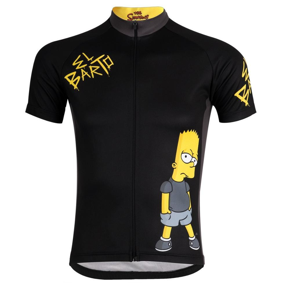 Cycling Jersey Shirt Wear Bicycle-Tops Road-Bike SIMPSONS Ropa-Ciclismo Summer Pro-Team