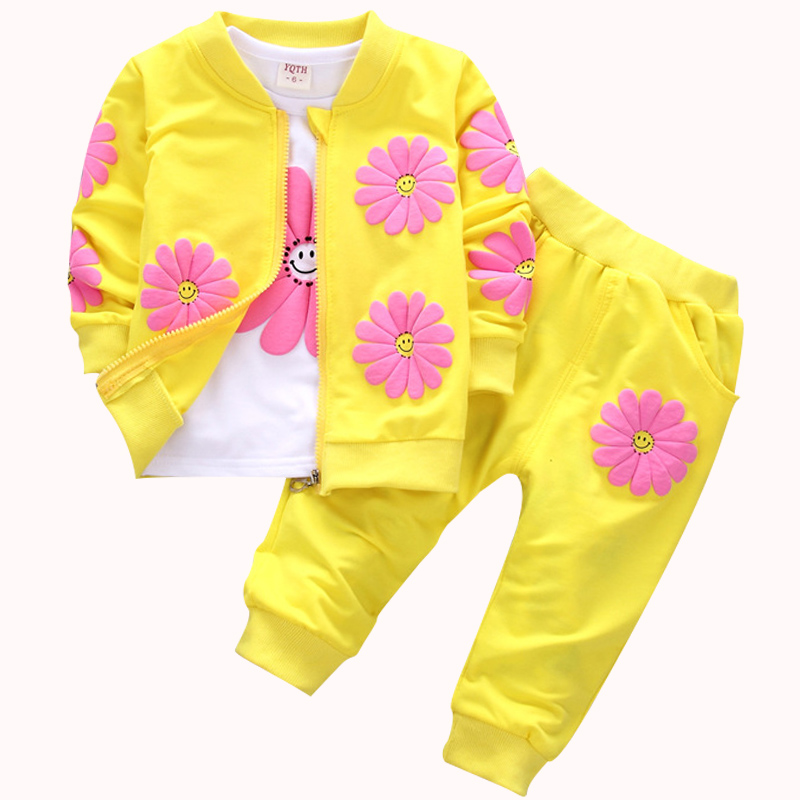 2018 Boys Girls Fashion Clothes Toddler Tracksuit Autumn Baby Clothing Sets Children Kids Hooded T-shirt+pants Full Suit baby boys clothes girls clothing set toddler infantil costumes t shirt pants suit 3 6 9 months spring autumn baby clothes