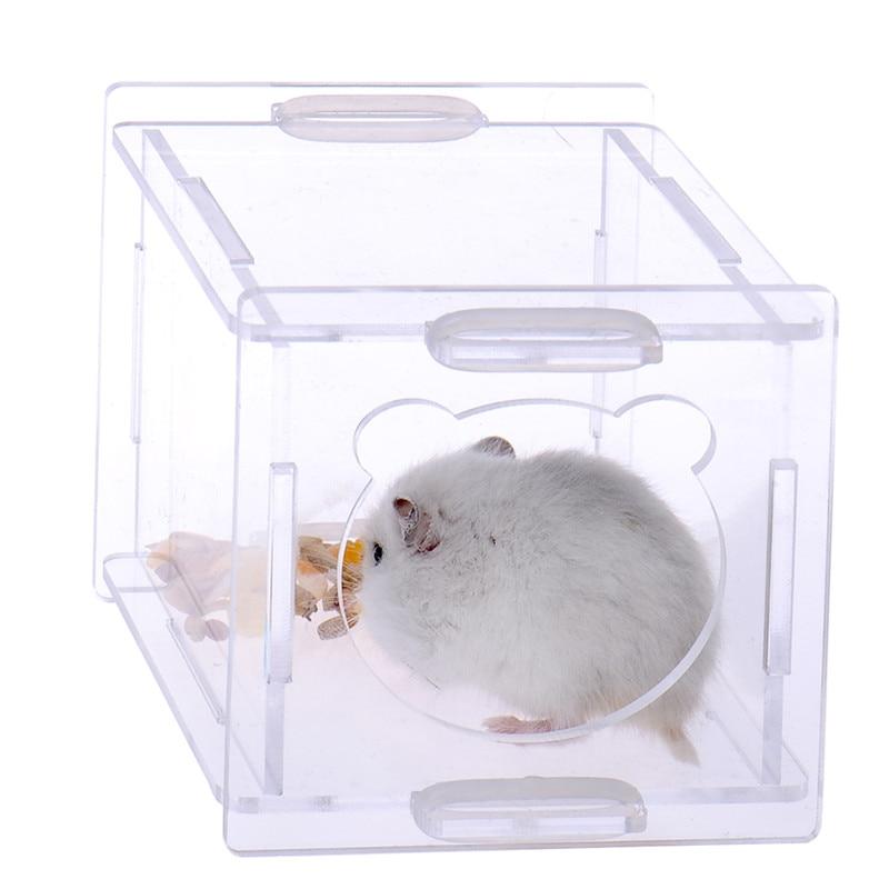 2017 Kafazë të Kafazëve të Re Portable Hamster Pet furnizojnë me - Produkte për kafshet shtëpiake - Foto 4