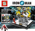 Marvel avengers super heroes Figures iron Man Building Blocks Sets Models  toys for children SY825