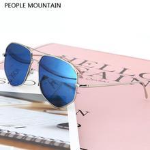 Polígono moda Colorido Estilo Piloto Gafas de Sol Hombres Mujeres Marca Diseñador Clubmaster Gafas Retro de La Venta Caliente Gafas de Sol Masculino