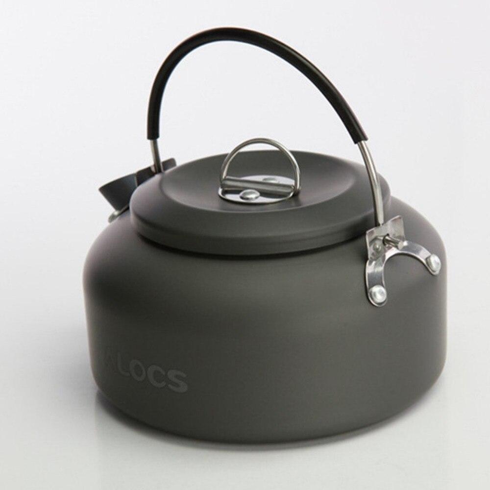 ALOCS CW-K02 Ultra Leichte Kochgeschirr Outdoor Camping Wasserkocher 0.8L Tee Kaffee Topf für Camping Angeln