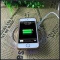 Caso carregador sem fio para iphone 6 s 6 s plus banco de carregamento do telefone móvel poder carregador de carregamento pad para iphone 6 se 5 5S 5c casos