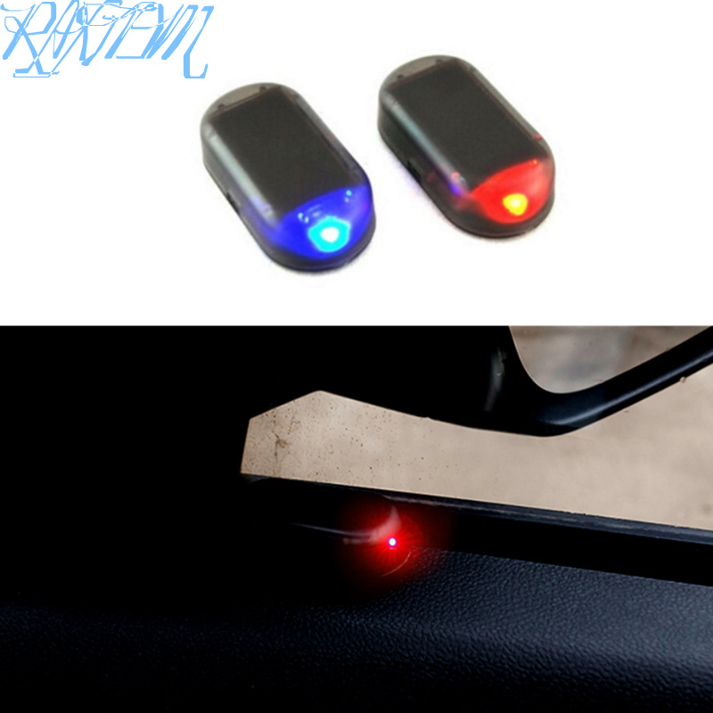 1PCS Solar Power Car Alarm Lamp Security System Warning Theft Flash For Chevrolet Cruze Niva Aveo Epica Lacetti Captiva Onix-in Car Stickers from Automobiles & Motorcycles