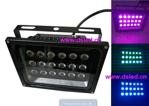 CE,IP65,DMX Compitable,54W outdoor RGB LED spotlight,LED floodlight,18X3W RGB 3in1,24VDC,DS-TN-05-54W оборудование распределения электроэнергии 2015 80 250 70 ip65 ce ds at 0825