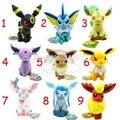 Pokemon eevee плюшевые 1 шт./компл. 17-21 см Sylveon Eevee Espeon Jolteon Vaporeon Flareon Glaceon плюшевые игрушки