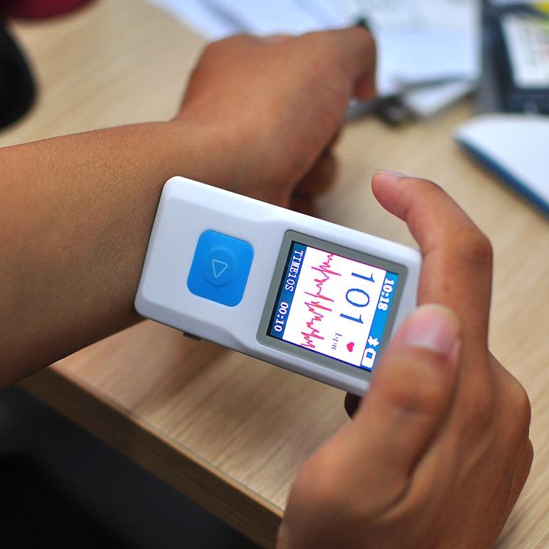 PM10 Portable Handheld ECG EKG Heart Monitor Electrocardiogram Rapid ECG tester Personal Care HealthyUSB Bluetooth LCD