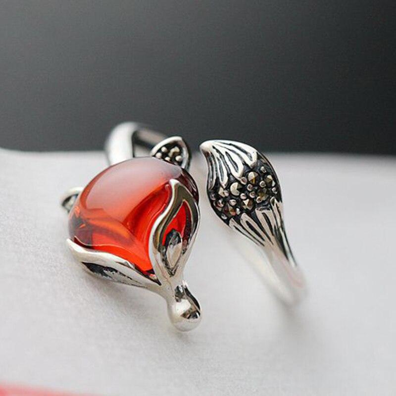 Купить женское кольцо из тайского стерлингового серебра 925 пробы с