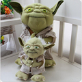 2016 Hot 20cm 35cm Filling Plush Toy Doll Creative Star Wars Character Yoda Wisdom Old Holiday Birthday Gift Free Door x175