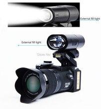 D7200 цифровая видеокамера 33 миллионов пикселей цифровая камера Профессиональная камера 24X оптический зум камера плюс СВЕТОДИОДНЫЕ фары бесплатная доставка